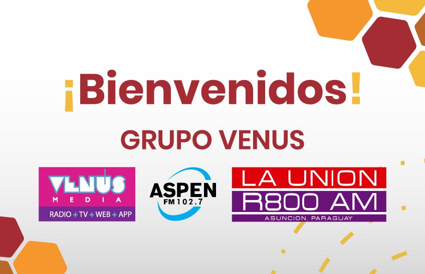 El Grupo Venus se suma como Media Partner