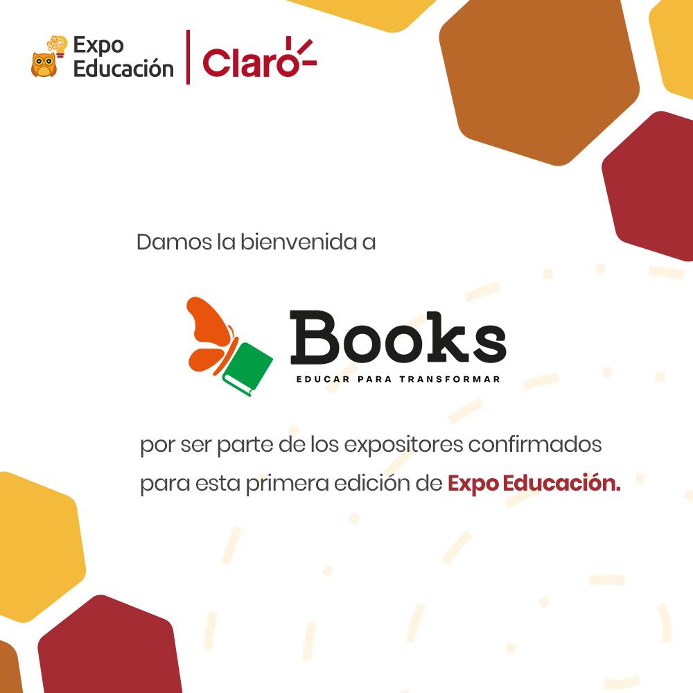 Librería Books SRL se suma a la Expo Educación │Claro – STEAM