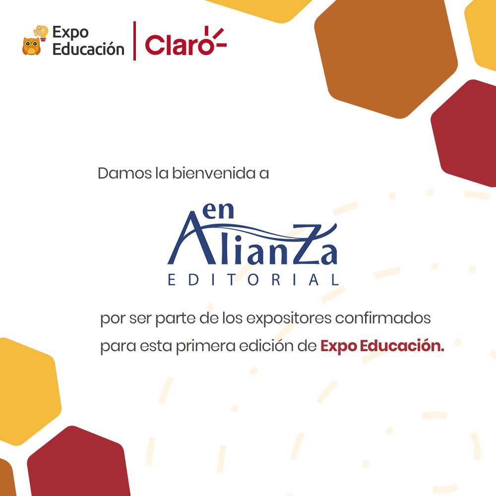 La Editorial En Alianza se une como Expositor a la Expo Educación │ Claro