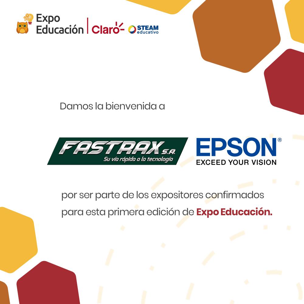Damos la bienvenida a Fastrax S.A. a la Expo Educación Claro - STEAM