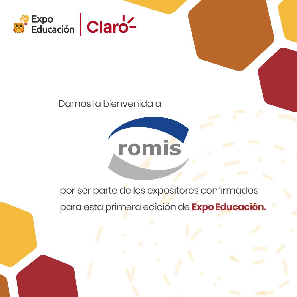 Damos la bienvenida a Romis Paraguay S.A a la Expo Educación