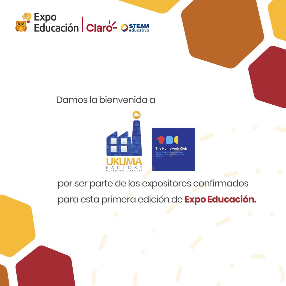 Bienvenido The Homework Club a la Expo Educación Claro - STEAM